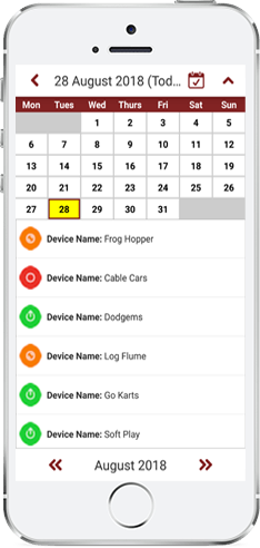 Pole Star Theme Parks Digital Checklists: App